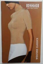 WOLFORD CLASSICS KATALOG 2002 LOOKBOOK NYLONS STRUMPFHOSE SEXY LEGWEAR