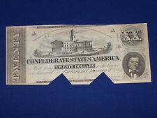 $20 T-51 Confederate States of America Civil War Note C77