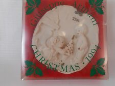 "Giuseppe Armani Plaque ""Christmas Tree"" 1994, Italy,in original box,never opened"