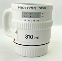 Into Focus 3D WHITE Coffee Or Tea Mug by Bitten - for the Photographer!!