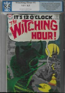 Witching Hour #1 PGX 8.5 DC Neil Adams 1st Appearance of Mordred 1969 Silver Age
