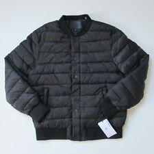 NWT UGG Men's Gavin Bomber in Black Nylon Puffer Jacket L $275