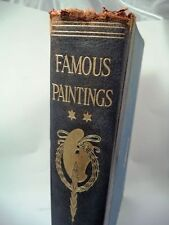 VTG VOLUME 2 FAMOUS PAINTINGS WORLD'S GREATEST GALLERIES CIRCA 1924 BOOK
