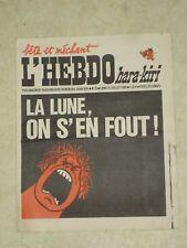 L'HEBDO HARA-KIRI n°25- 21/07/1969