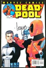 Deadpool #54 Punisher Cover Signed by Georges Jeanty! VF/NM (Marvel 2001)