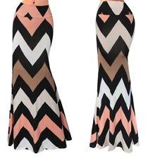 Gonna Lunga Donna Maxi Fantasia Anni 70 Woman Maxi Skirt 70's Print 130056 P