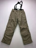 BERGHAUS SALOPETTES Trousers - Small W30 L30 - Beige - Great Condition - Men's