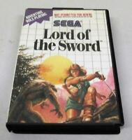Lord of the Sword Sega Master System PAL *No Manual*