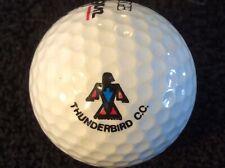 Rare Thunderbird C.C. Logo Golf Ball from Nevada