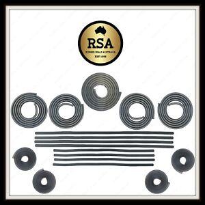 Mazda RX2/Capella 70-76 Sedan Doorbelt, Bailey, Boot and Door Seal Kit RK621b