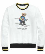 New listing Polo Ralph Lauren Stadium ColorBlock Downhill Suicide Skiing Bear Sweatshir- XLT