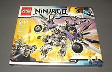 LEGO Nindroid MechDragon 70725 Ninjago Set w Sensei Garmadon, Evil Wu NEW