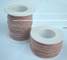 25 m HF Litze Kupfer lackiert mit HF-Seide Hochfrequenz Litze litzwire HFL 457