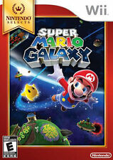 Super Mario Galaxy (Nintendo Selects) (Nintendo Wii, 2011) NEW SEALED
