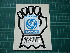 BRITISH LEYLAND Gauntlett Sticker MG Mini 1275GT