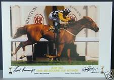 SAINTLY 1996 MELBOURNE CUP signed Print