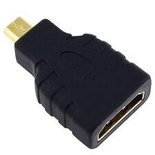 Alta velocità micro HDMI (Tipo D) a HDMI (tipo A) - Adattatore per la connessione Spic.