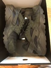 Nike Air Huarache Run City QS NYC Mens AJ5578-001 Black Running Shoes Size 9.5