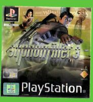 SYPHON FILTER 3 originale  COMPLETO ITALIANO PS1 u-1 pal ORIGINALE completo