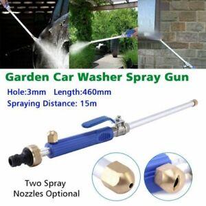 High Pressure Power Washer Jet Wash Spray Gun Nozzle Water Hose Wand Attachment