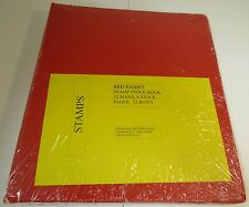 """RED RABBIT STAMP STOCK BOOK """"BINDER ONLY"""" 4 PACK  WITH FREE SHIPPING!!!"""