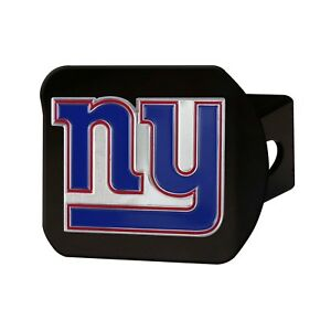 Fanmats NFL New York Giants 3D Color on Black Metal Hitch Cover Del. 2-4 Days