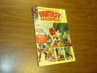 FANTASY MASTERPIECES #8 Marvel Comics 1967 Timely Captain America Torch Subby