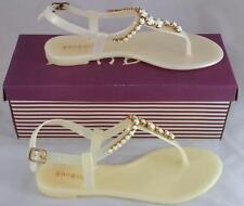 0c11d01f37a Bamboo Shoes Hawaii - 23 Women s Lemon Yellow PVC Jeweled Sandals Size 5