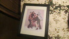 WILL & GRACE CAST SIGNED/AUTOGRAPHED FRAMED 10X13 (ALL 4 STARS) W/COA