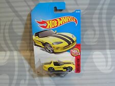 2017 Hot Wheels ''Then And Now'' #281 = Dodge Viper R/T10 = Yellow star , int.