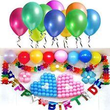 20/50/100 Cumpleaños Boda Fiesta de Baby Shower Decoración PERLA Globos látex