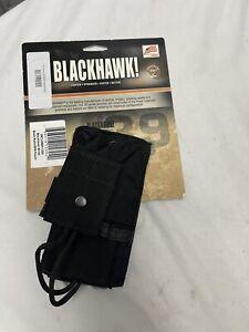 Blackhawk STRIKE Small Radio/GPS Pouch Black Made in USA 37CL35BK-USA