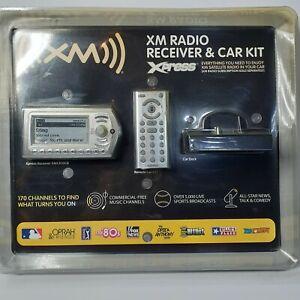 SiriusXM Xm RADIO Xpress Radio with Car Kit ( XMCK10CB )  WITH WIRELESS REMOTE
