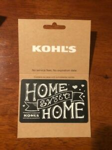 Kohl's $200 Gift Card Physical New free shipping