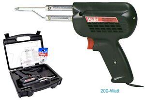 Professional SOLDERING Gun KIT 120-Volt 260/200-Watt Weller D550PK