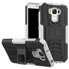Hybrid Rugged Armor Shockproof Hard Case Kickstand Cover For Asus Zenfone series