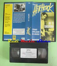 film VHS IO TI SALVERO' 1994 ALFRED HITCHCOCK Deagostini BRIVIDO HT14(f33)no*dvd