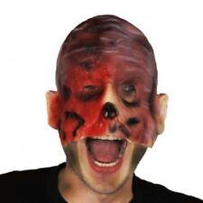 Nightmare on Elm Street Freddy Krueger Latex Half Burnt Masque Halloween Horreur