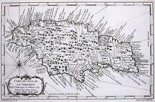 Antique map, Carte De L'Isle de la Jamaique