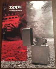 4- ZIPPO COMPLETE COLLECTION CATALOGS