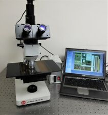 Leitz Laborlux 12hl Microscope Metallurgical Semiconductor Bfdf With 5mp Cam