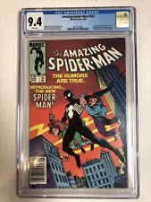 Amazing Spider-Man (1984) # 252 (CCG 9.4) Canadian Price Variant CPV   1st Black