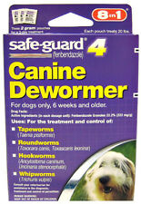 8 In 1 Safe Guard Canine Dewormer For Medium Dogs 6 Week And Older - 2 g