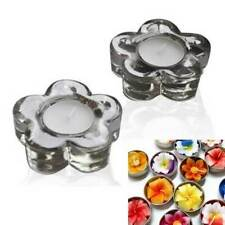 Unbranded Glass Flower Candle Holders & Accessories