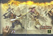 "Jade Empire ""Xbox"" 2005 Magazine 2 Page Advert #4875"