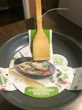 "Original Green Pan💚 10"" Fry Pan Thermolon Metal Utensil Safe Healthy💖 Ceramic"