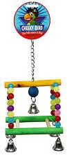 Cheeky Bird Wooden Bird Toy / Arch Swing