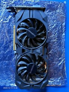 NVIDIA GeForce GTX 960 GPU Graphics Card GIGABYTE GV-N960WF2OC-2GD CUDA Enabled