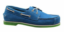 Chaussures décontractées bleues en cuir pour garçon de 2 à 16 ans