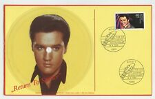Rare Elvis Presley Postcard Record - Return To Sender - Germany Import